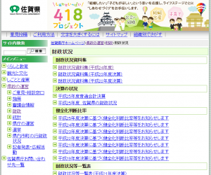 佐賀県:財政状況